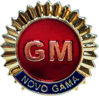 DISTINTIVO DE BOINA GM NOVO GAMA
