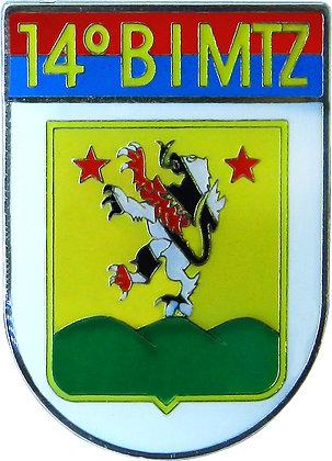 DISTINTIVO DE BOLSO EB 14º BIMTZ