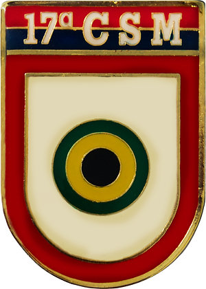 DISTINTIVO DE BOLSO EB 17º CSM