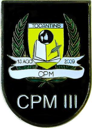 DISTINTIVO DE BOLSO CPM III/ PMTO