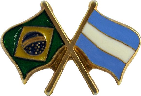 BOTON BRASIL X ARGENTINA