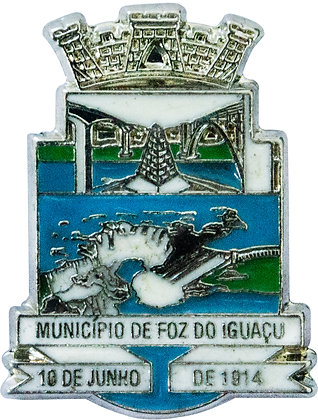 BOTON MUNICÍPIO DE FOZ DO IGUAÇU