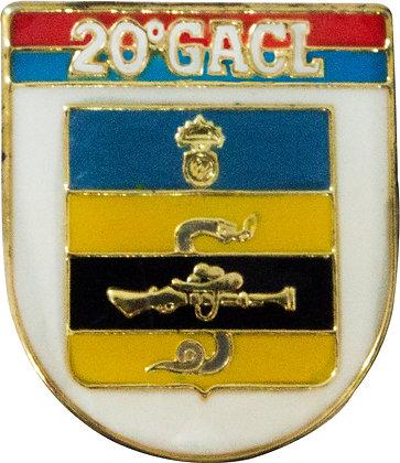 BOTON 20º GACL