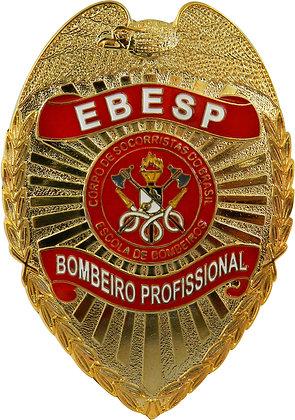DISTINTIVO DE PEITO BOMBEIRO PROFISSIONAL