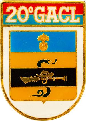 DISTINTIVO DE BOLSO EB 20º GACL