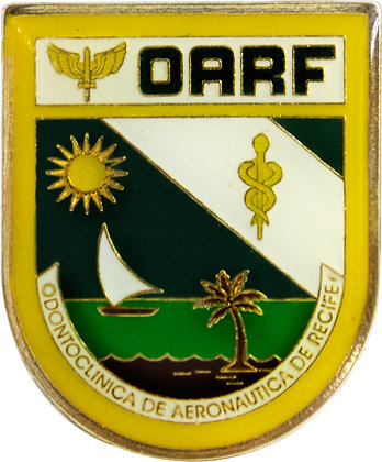 DISTINTIVO DE BOLSO FAB OARF