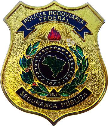 CHAPA CARTEIRA POLÍCIA RODOVIÁRIA FEDERAL