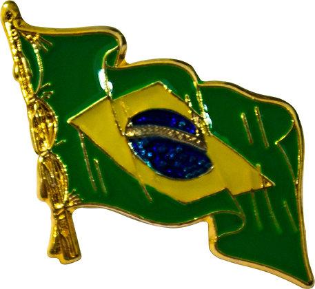 BOTOM BANDEIRA DO BRASIL