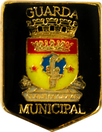 BOTON GUARDA MUNICIPAL DUQUE DE CAXIAS