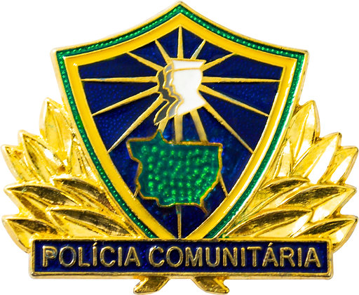 BOTON POLÍCIA COMUNITÁRIA MT