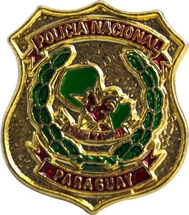 BOTON POLÍCIA NACIONAL DO PARAGUAY