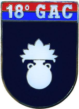 DISTINTIVO DE BOLSO EB 18º GAC