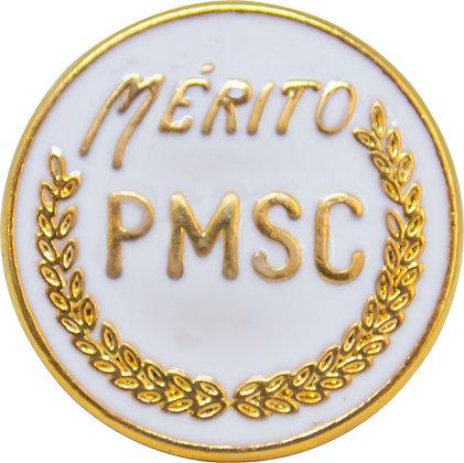BOTON MÉRITO PMSC - BRANCO