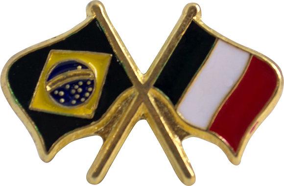 BOTON BRASIL X ITÁLIA