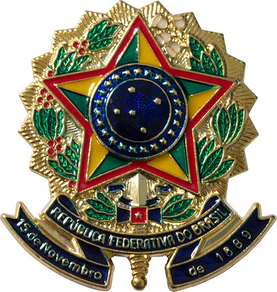 BRASÃO DA REPÚBLICA RECORTADO