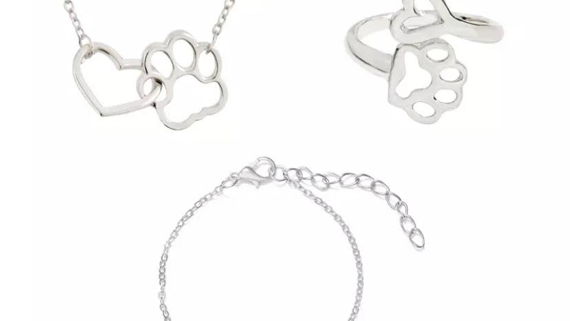 Silver Pet Lover Jewellery