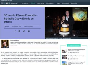 50 ans pour le Réseau Ensemble