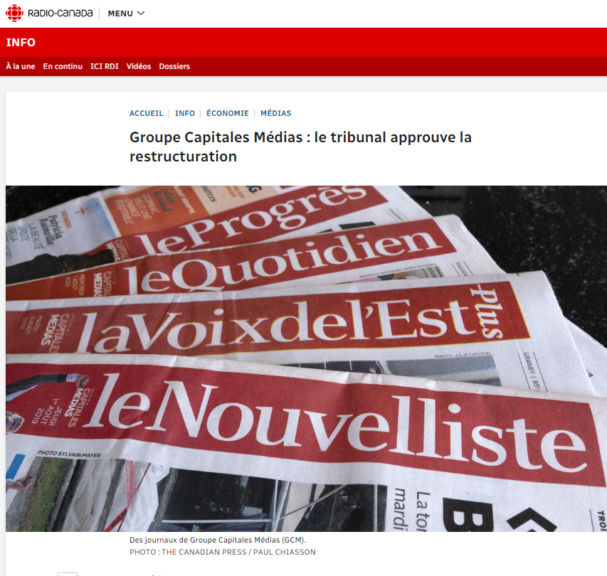 Groupe Capitales Médias