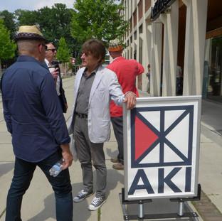 Wim T Schippers bezoekt de AKI 2017