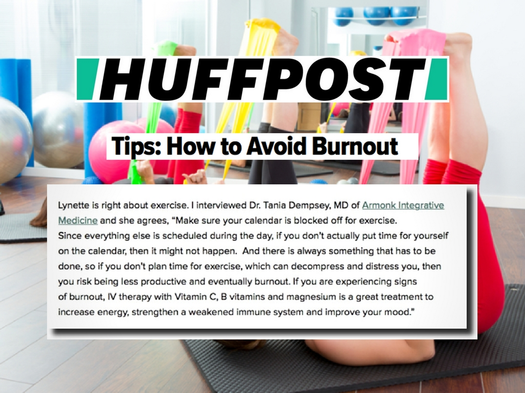 how to avoid burnout Huffington post
