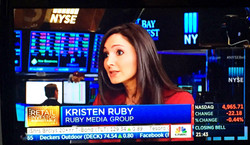 Kris Ruby CNBC Closing Bell NYSE