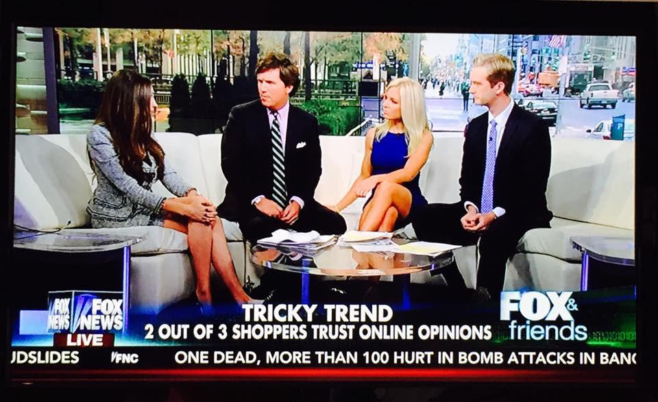 Kris Ruby Fox & Friends Social Media