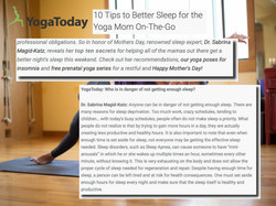 10 tips to get more sleep yoga today