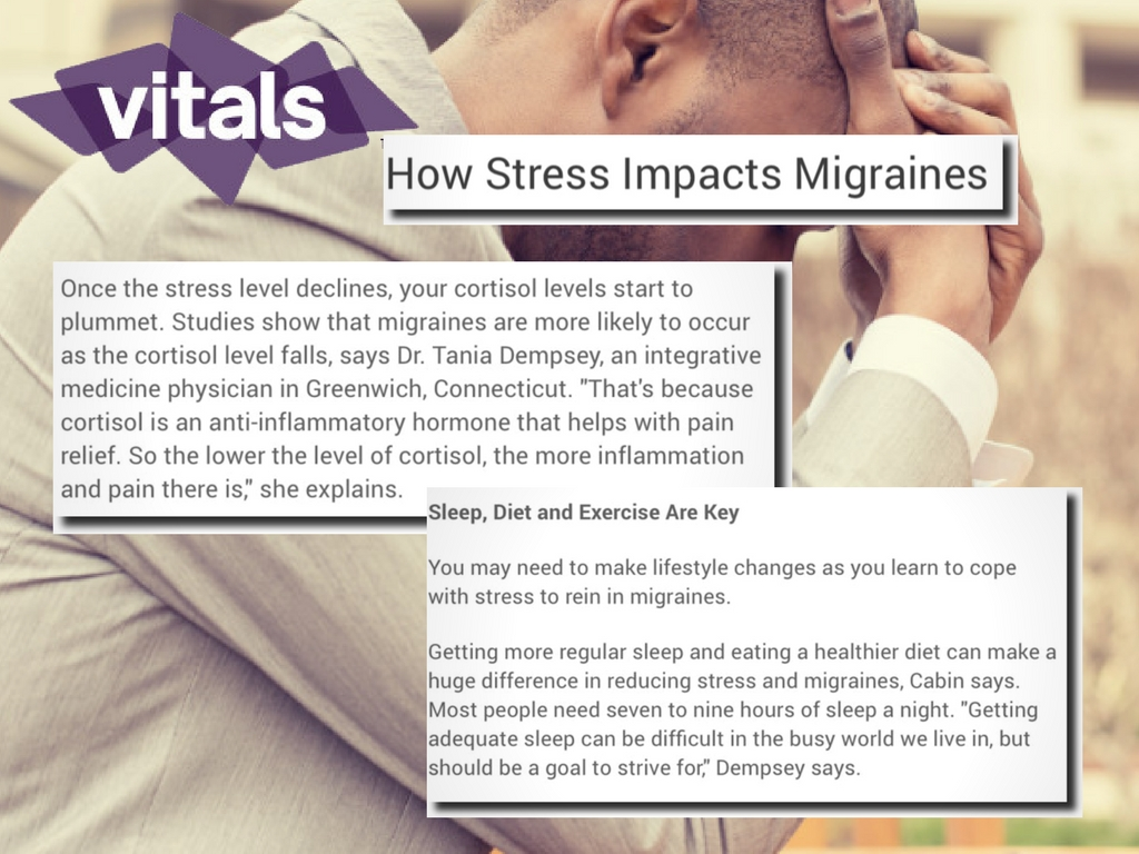 how stress impacts migraines