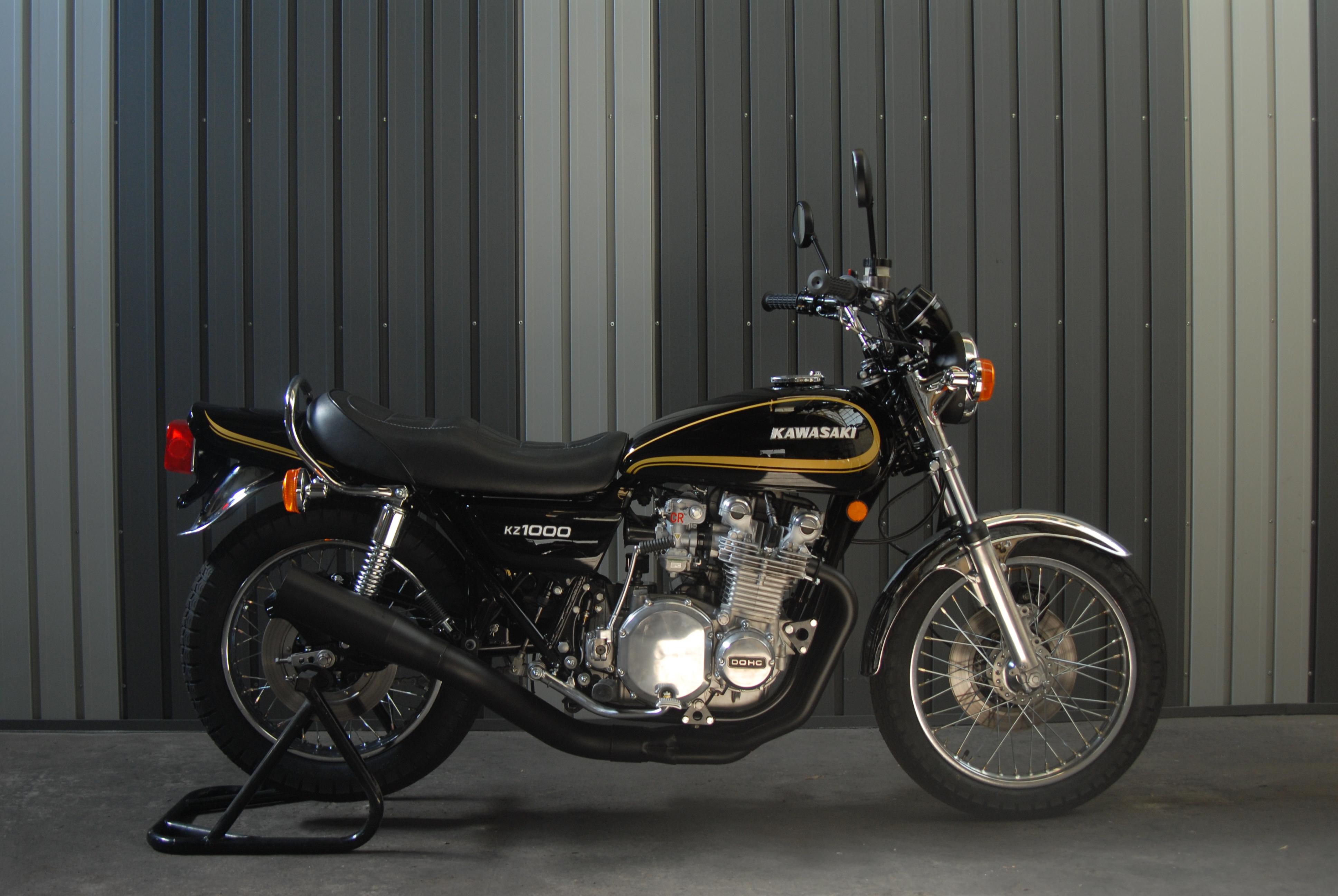 New KZ1000 Lincoln Black
