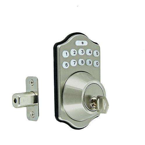 Fechadura Eletrônica IG 200 Com Bluetooth,Senha e Chave Mecânica P/ Porta Comum