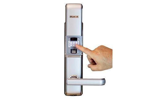 Fechadura Eletrônica Graceful c/ Biometria e Senhas p/ Porta Segurança