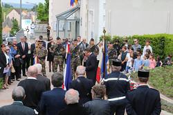 Zeremonie 8 mai 2018