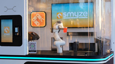 THE SPOON - Switzerland: Smyze's Robot Barista Makes Coffee and Mocktail Drinks