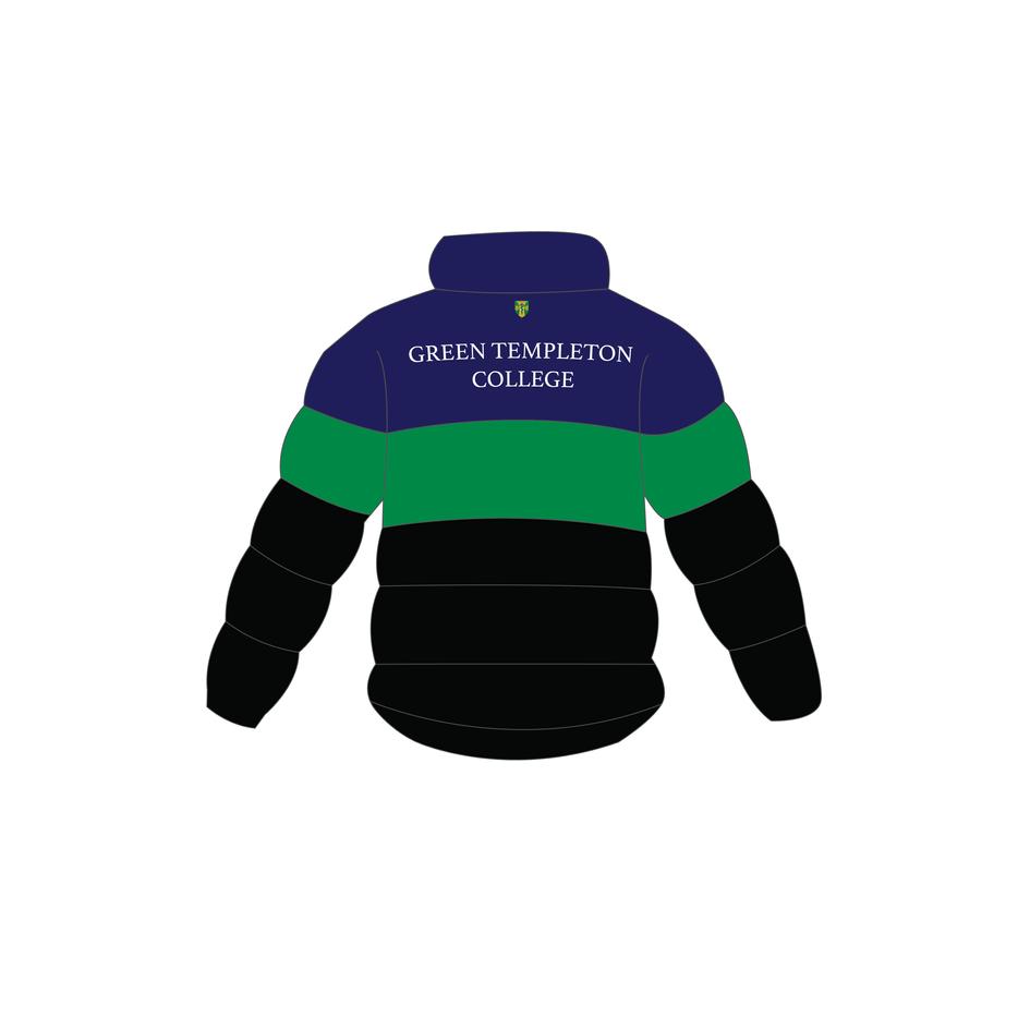 Back Puffer Jacket - Green templeton-01-