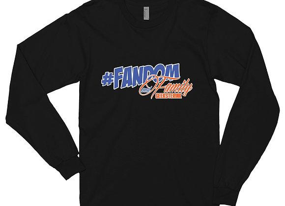 Fandom and Family- Long Sleeve