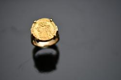 Bague Solidus d'or