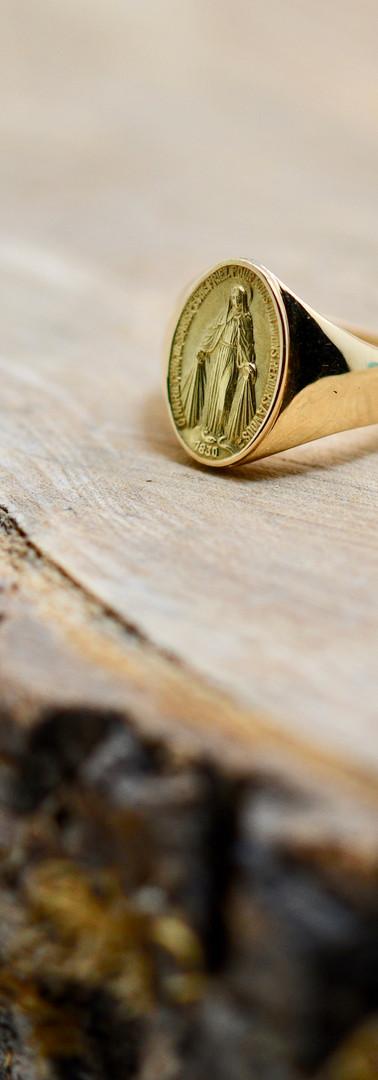 Chevalière Médaille Miraculeuse Odyssea