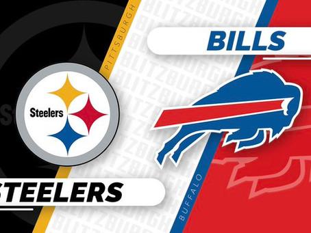 Steelers vs. Bills: Early Week 1 Preview