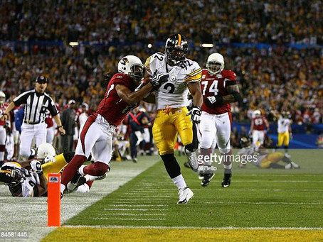 Antrel Rolle thought about tripping James Harrison on interception return in Super Bowl XLIII