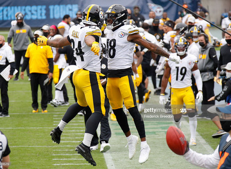 The Steelers are now the lone undefeated team remaining