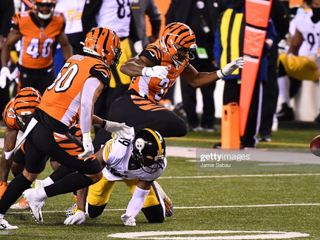 Vonn Bell's hit on JuJu Smith-Schuster last year was a sign for Mike Hilton