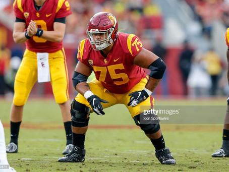 One NFL writer says USC OT Alijah Vera-Tucker has the Steelers 'written all over him'
