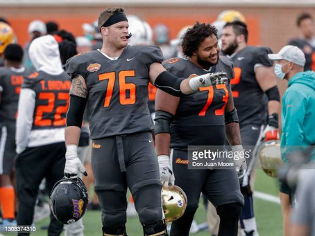 Northern Iowa OT Spencer Brown could be an option for the Steelers in the second round
