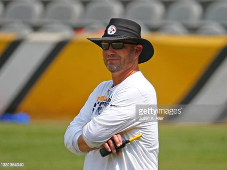 Matt Canada talks about the operation of calling the plays to Ben Roethlisberger from the booth