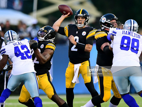 Winners and Losers from the Steelers' 16-3 win over the Cowboys in the Hall of Fame Game