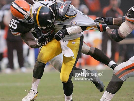 Ben Roethlisberger could hold the record for most sacked QB in NFL history at the end of this year