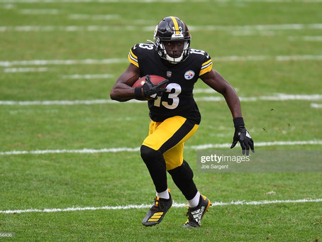 James Washington reportedly approached the Steelers and requested to be traded