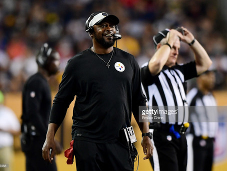 Mike Tomlin says it was 'good to be back' in a stadium full of fans
