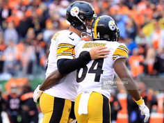 Antonio Brown actually positively acknowledged Ben Roethlisberger