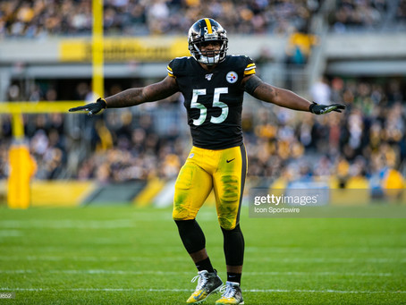 Pro Football Focus ranks Devin Bush as the 17th best linebacker in the league